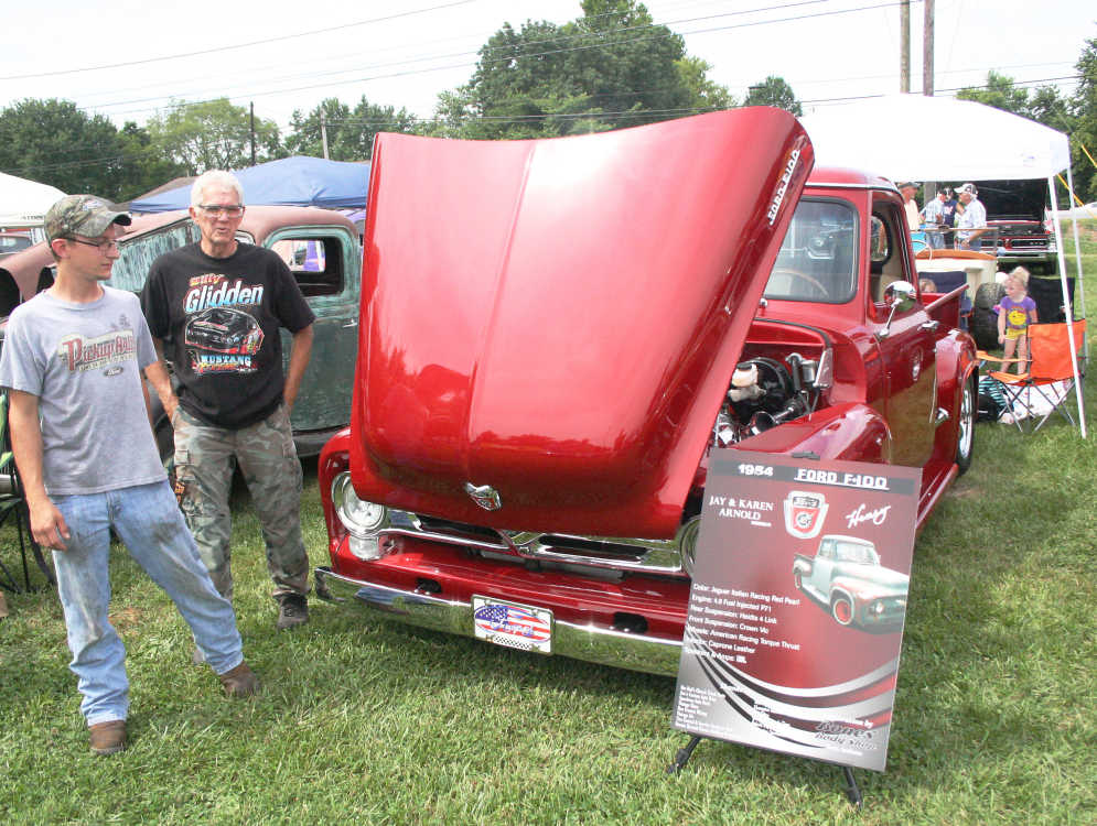 Car show offers bright, shiny and unusual