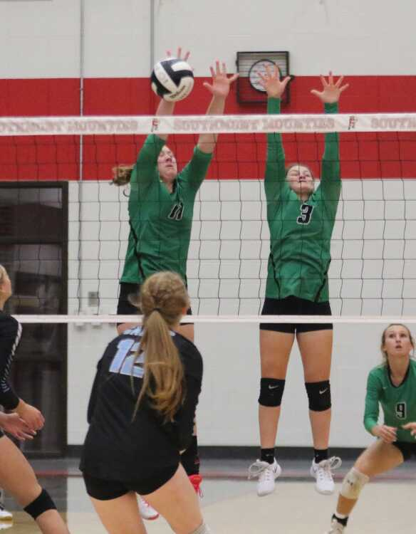 Clovers swept by Cadets in sectional opener
