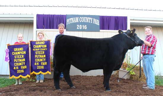 Local News: 2016 Putnam County 4-H Fair Beef Show (7/27/16