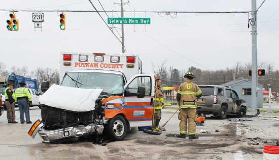 Local News: OL Ambulance, sheriff's department SUV involved