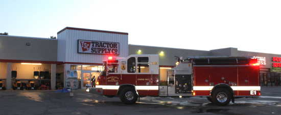 Local News Gfd Puts Out Small Fire At Tractor Supply 8 2 18