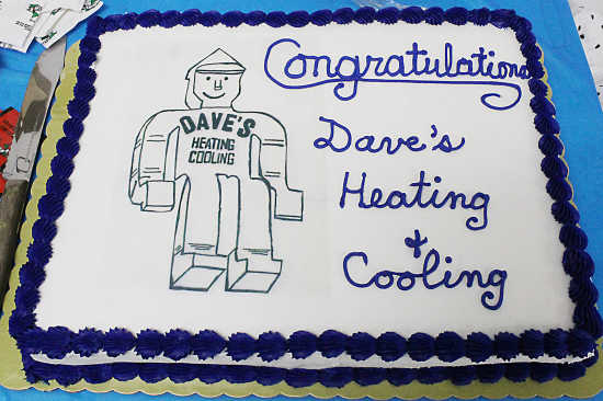 Local News Just Being Dave Garners Award For Dave S Heating And Cooling 3 21 19 Greencastle Banner Graphic