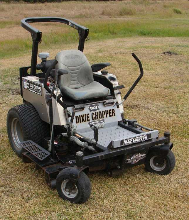 Local News: New Dixie Choppers to be manufactured in Illinois (8/8